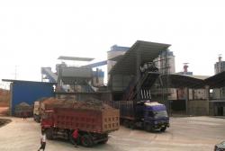 神火集团卸车液压翻板机平台
