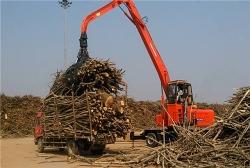 东盾轮式抓木机