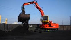 太原铁路段卸煤机