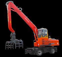 XZDDE400轮式抓木机