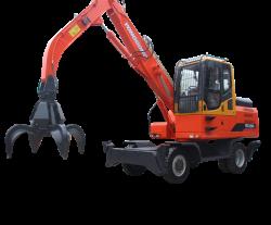 XZDDE160-7轮式抓木机
