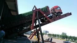 天津轧三钢厂液压翻板