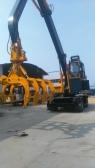 40吨抓木机