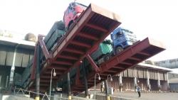 卸车翻板机