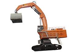 DDZ2000履带单动力液压抓料机